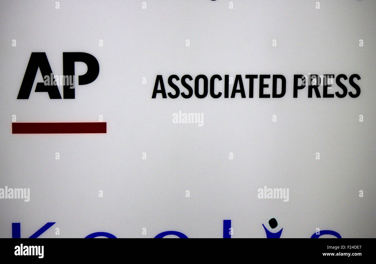 Markenname: 'AP - Associated Press', Dezember 2013, Berlin. - Stock Image