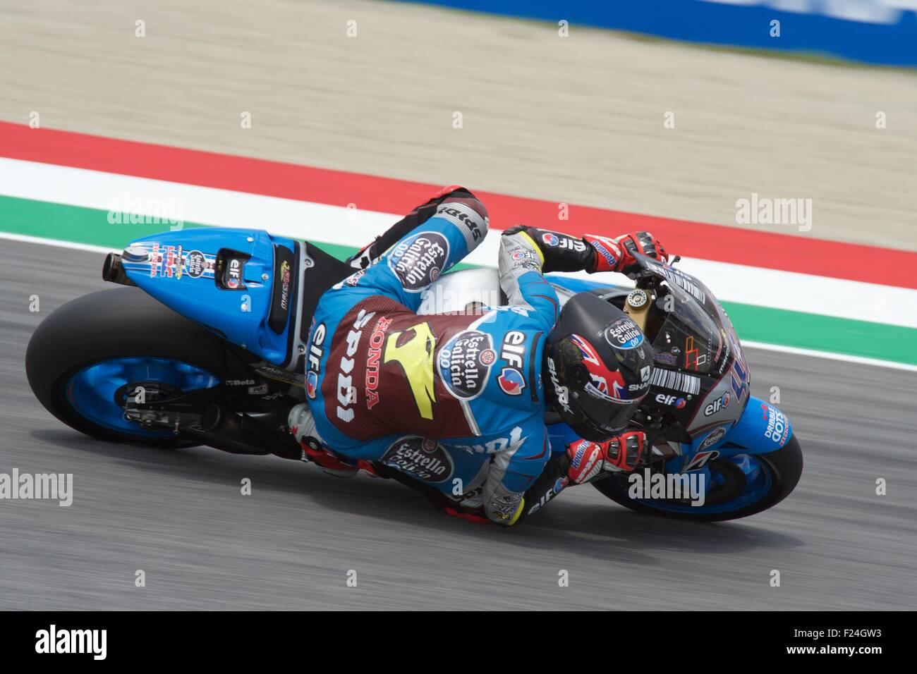Mugello Circuit, Italy 30th May 2015. Scott Redding during qualifying for the Gran Premio D'Italia at the Mugello - Stock Image