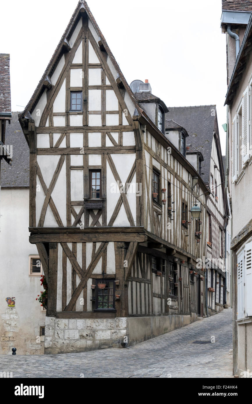 Fine One Of Many Medieval Timber Framed Houses In The French City Beutiful Home Inspiration Papxelindsey Bellcom