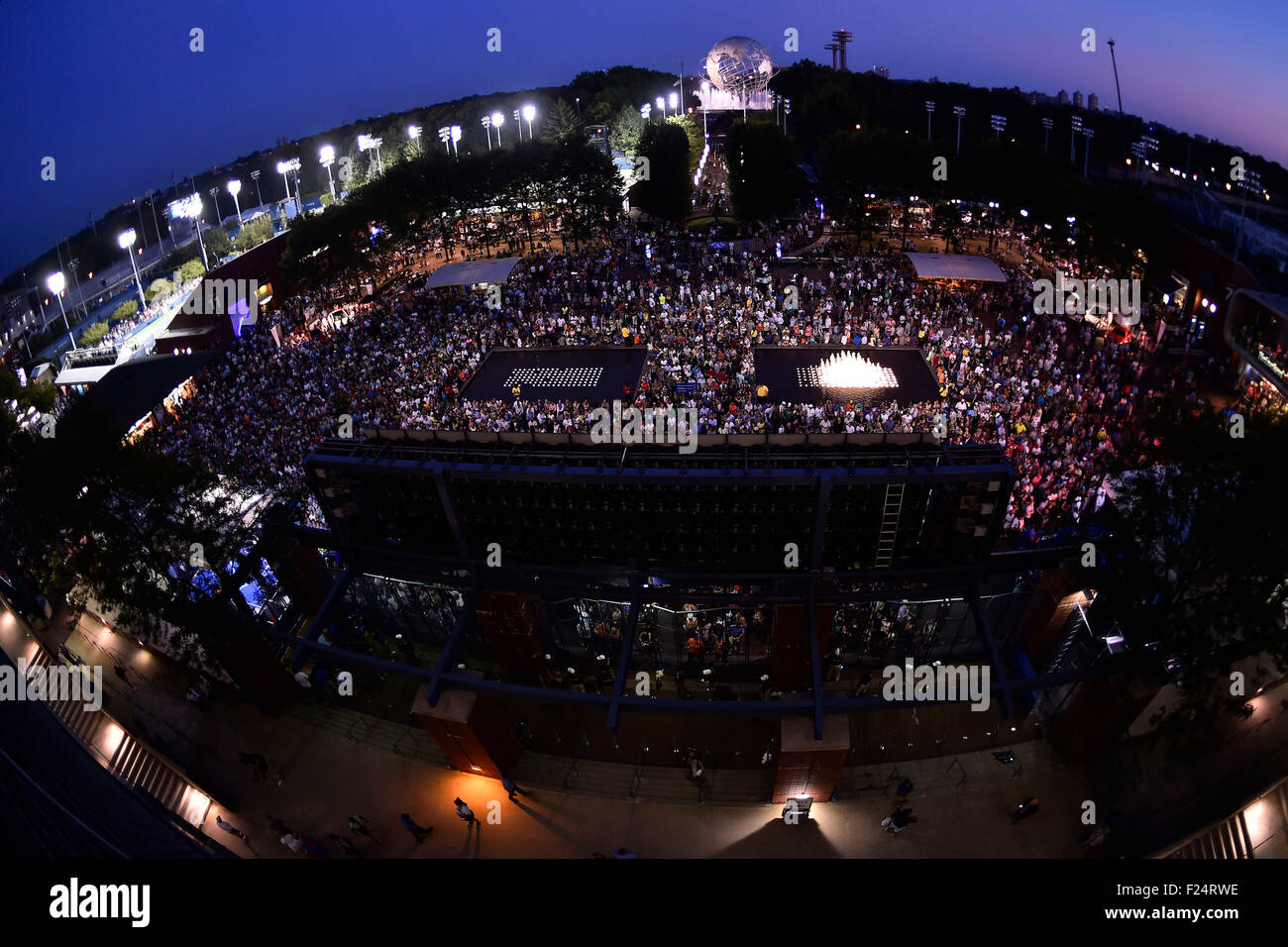 Flushing Meadows, New York, USA. 08th Sep, 2015. U.S. Open Tennis Championships at the USTA Billie Jean King National - Stock Image