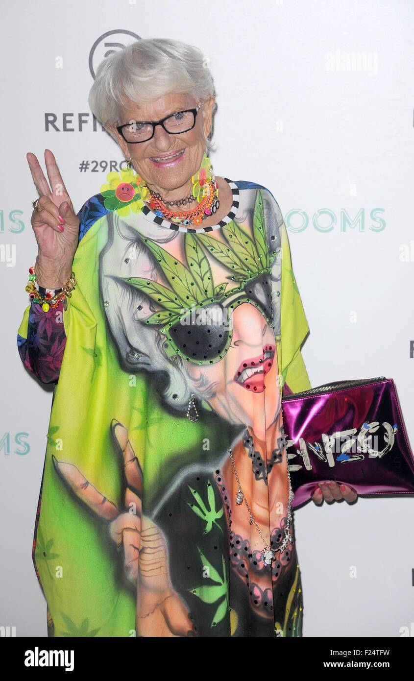 Brooklyn, NY, USA. 10th Sep, 2015. Baddiewinkle at arrivals for Refinery29 Fashion Week Destination: 29Rooms Opening Stock Photo