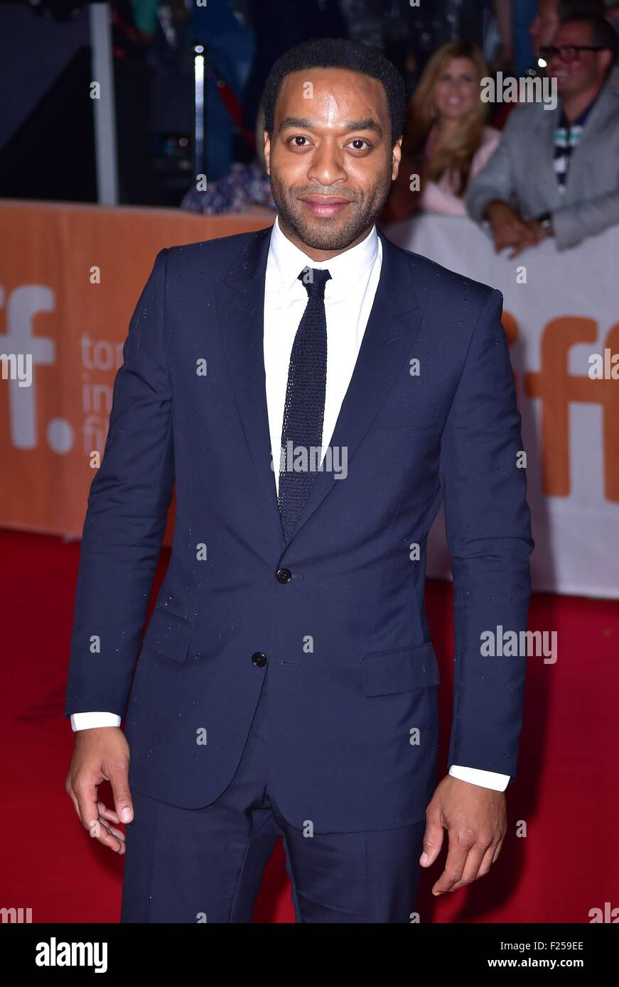 Toronto, ON. 11th Sep, 2015. Chiwetel Ejiofor at arrivals for THE MARTIAN Premiere at Toronto International Film - Stock Image
