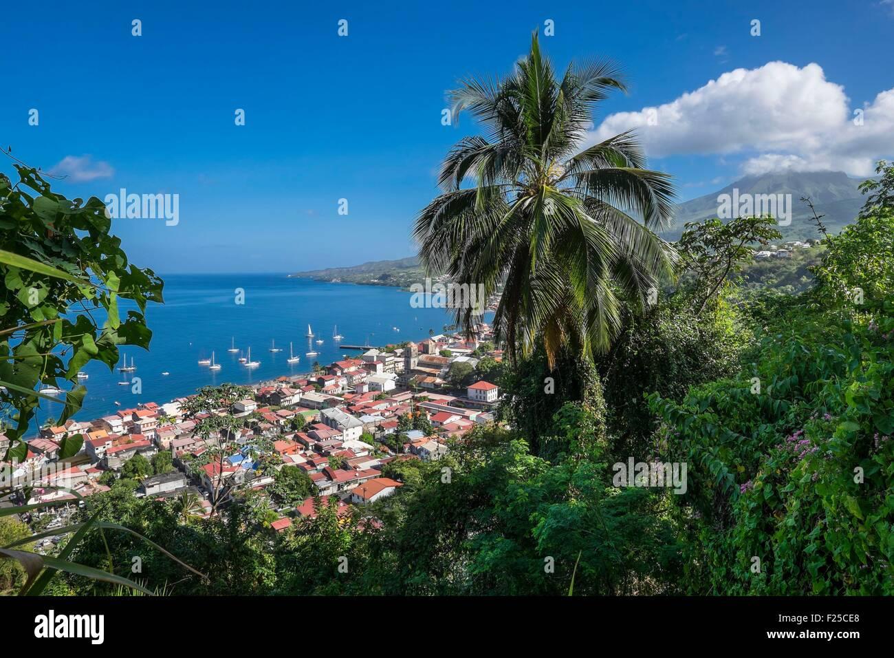 France, Martinique, Saint Pierre - Stock Image