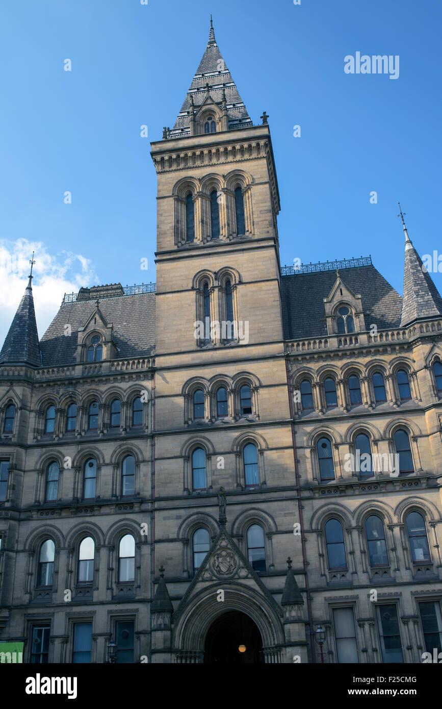 Manchester City Council Lloyd Street Entrance - Stock Image