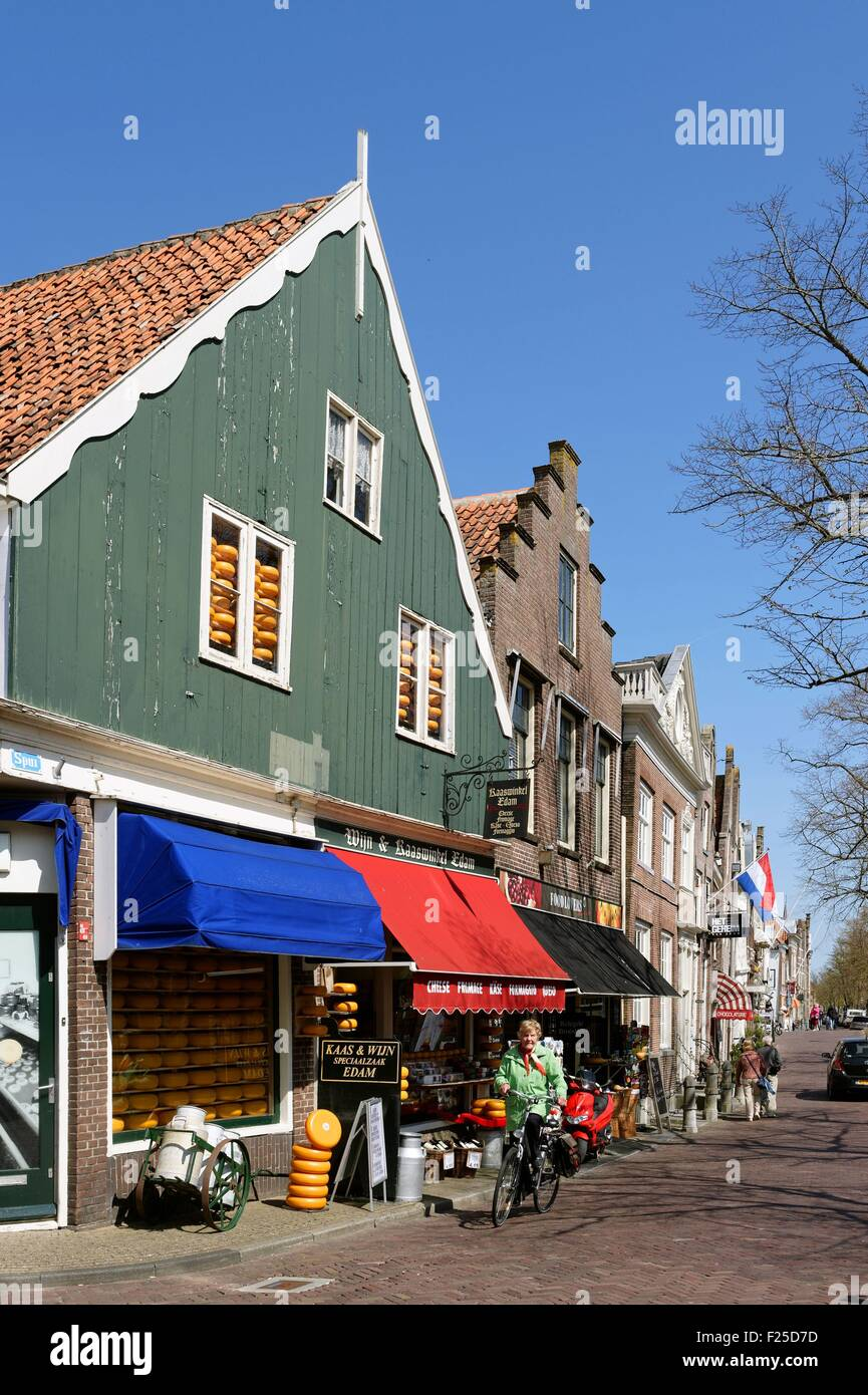 Netherlands, Northern Holland, Edam village - Stock Image