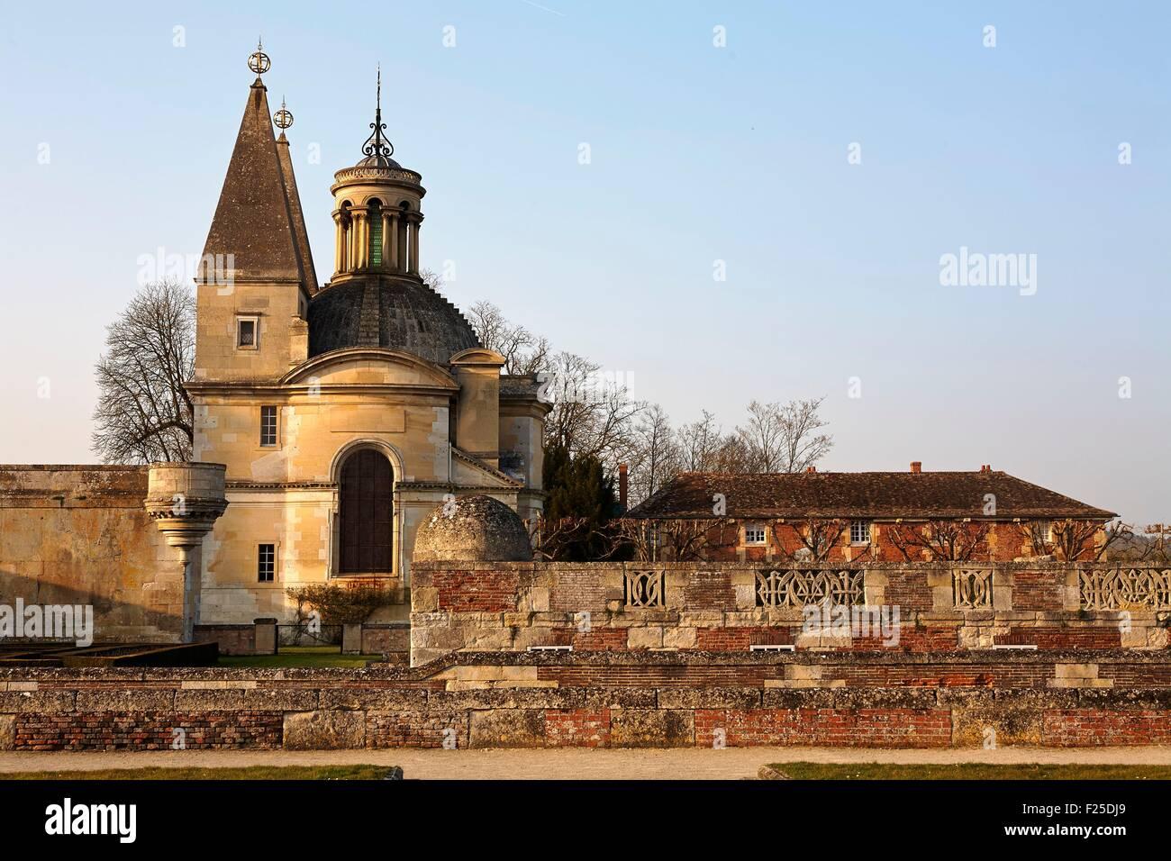 France, Eure et Loir, Anet, Renaissance castle - Stock Image