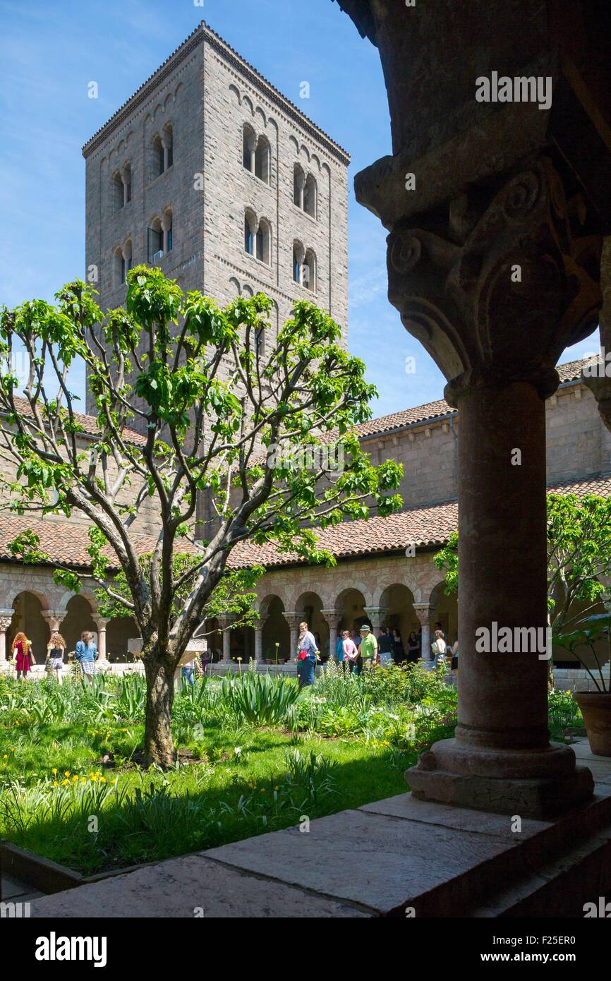 United States, New York, Manhattan, Washington Heights, The Cloisters - Stock Image