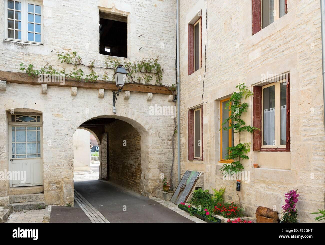 France, Aube (10), Mussy sur seine, the salt attic - Stock Image