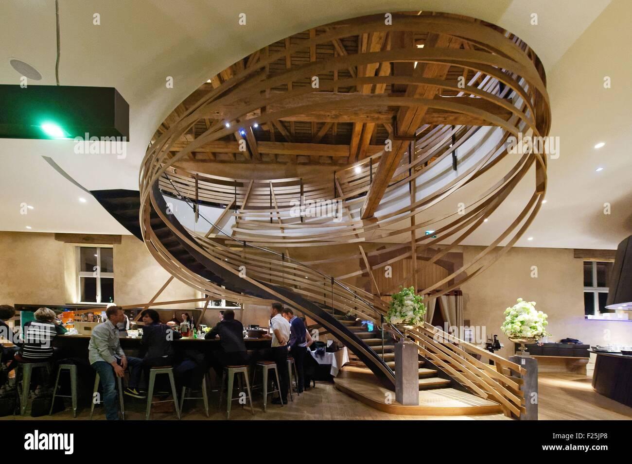 France, Bas Rhin, Strasbourg, new restaurant, Brasserie Les Haras ...