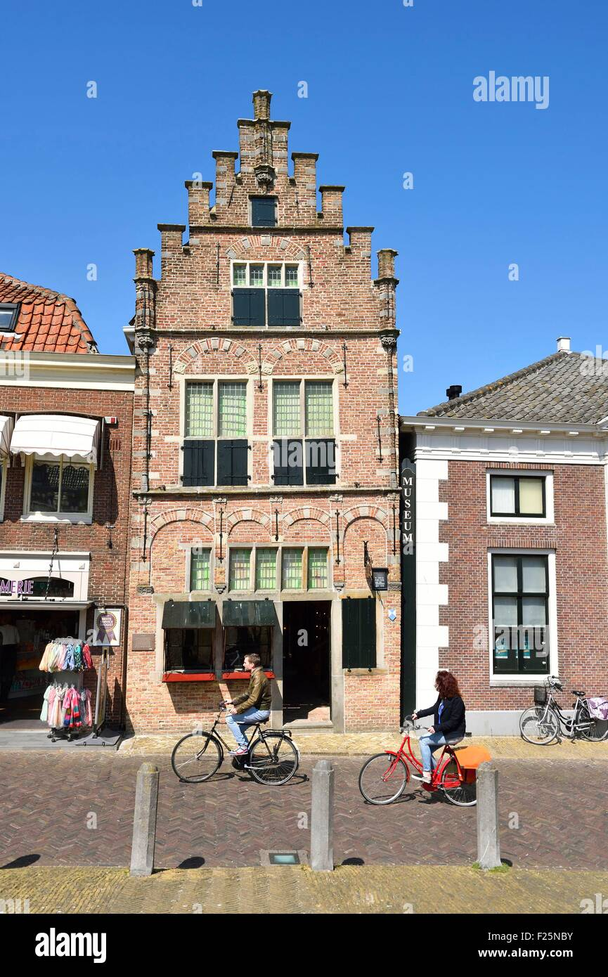 Netherlands, Northern Holland, Edam village, Edams Museum - Stock Image