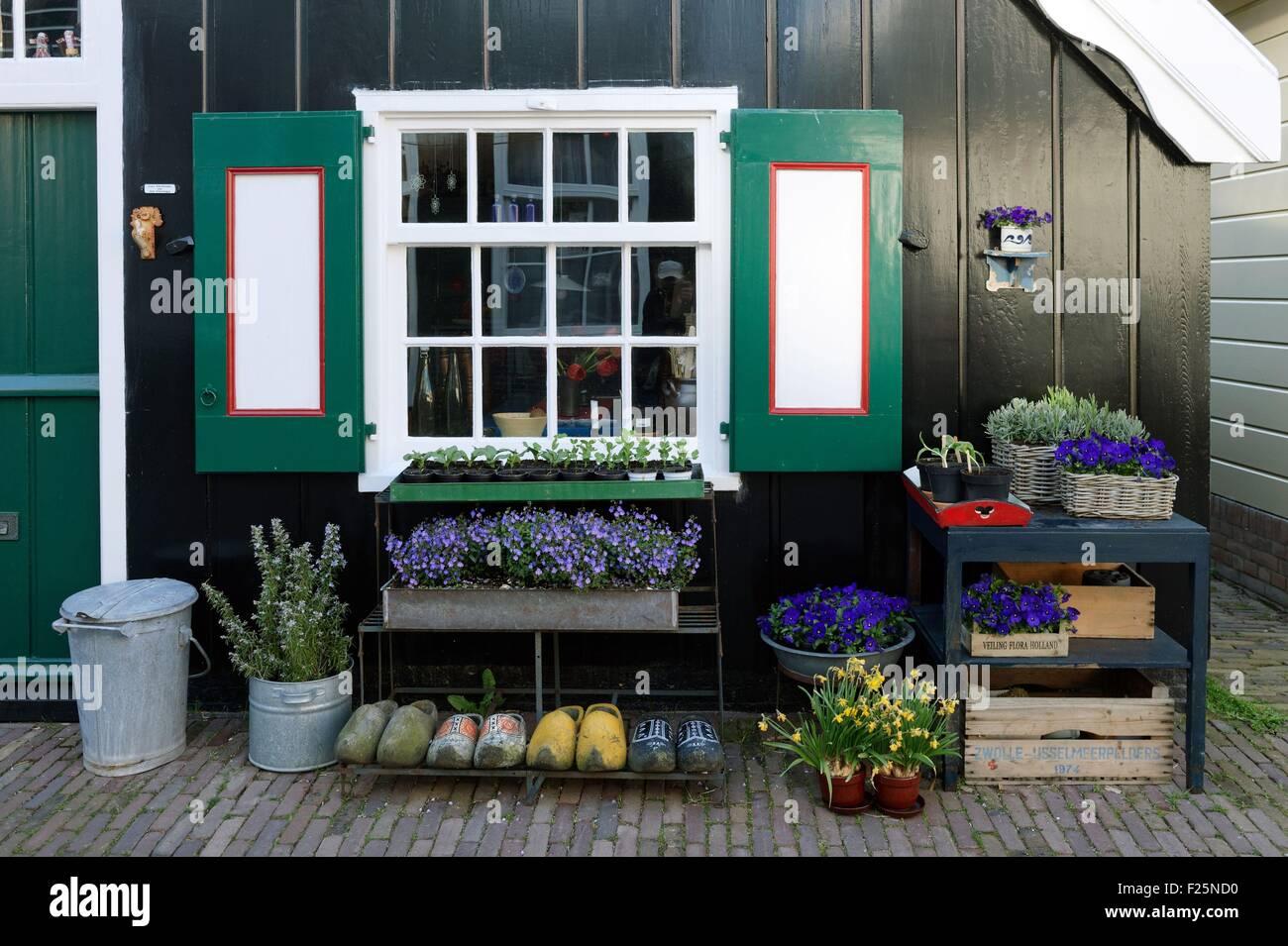Netherlands, Northern Holland, Marken village - Stock Image