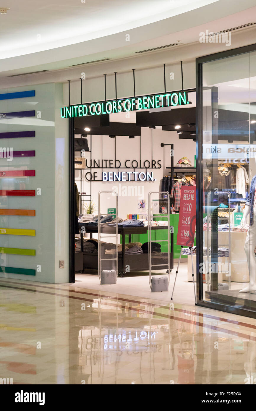United colors of Benetton shop - Stock Image