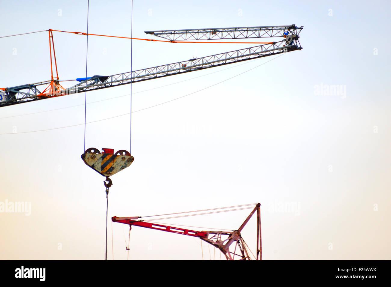 Tower Crane Parts Stock Photos & Tower Crane Parts Stock Images - Alamy