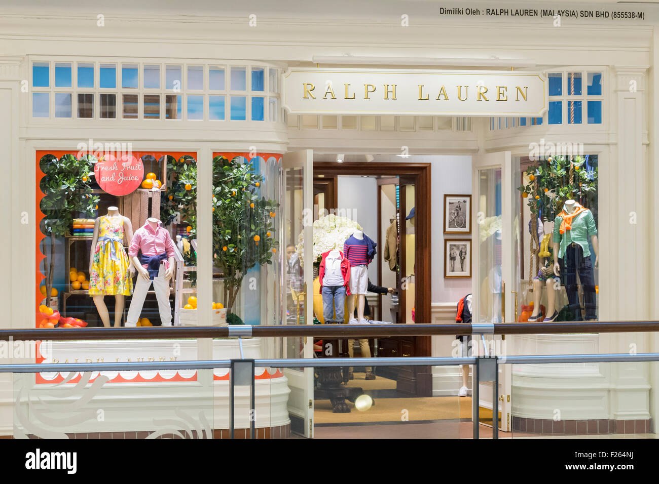 Ralph Lauren shop - Stock Image