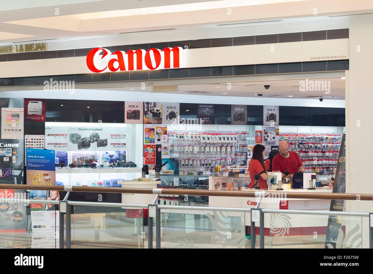 Canon shop - Stock Image