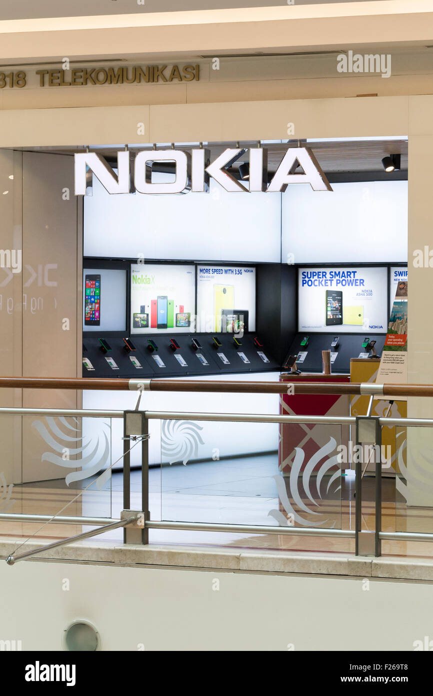 Nokia shop - Stock Image