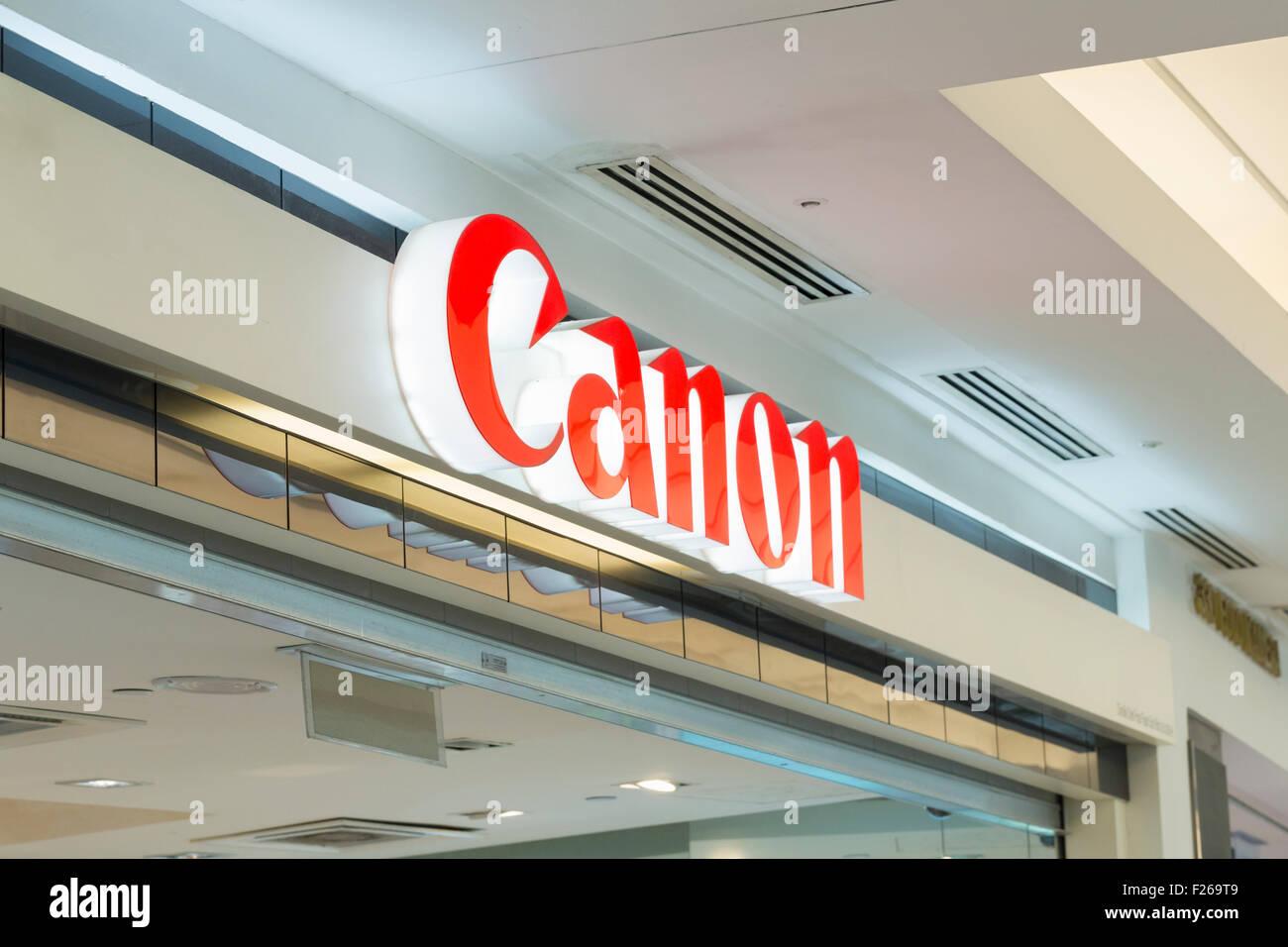 Canon logo - Stock Image