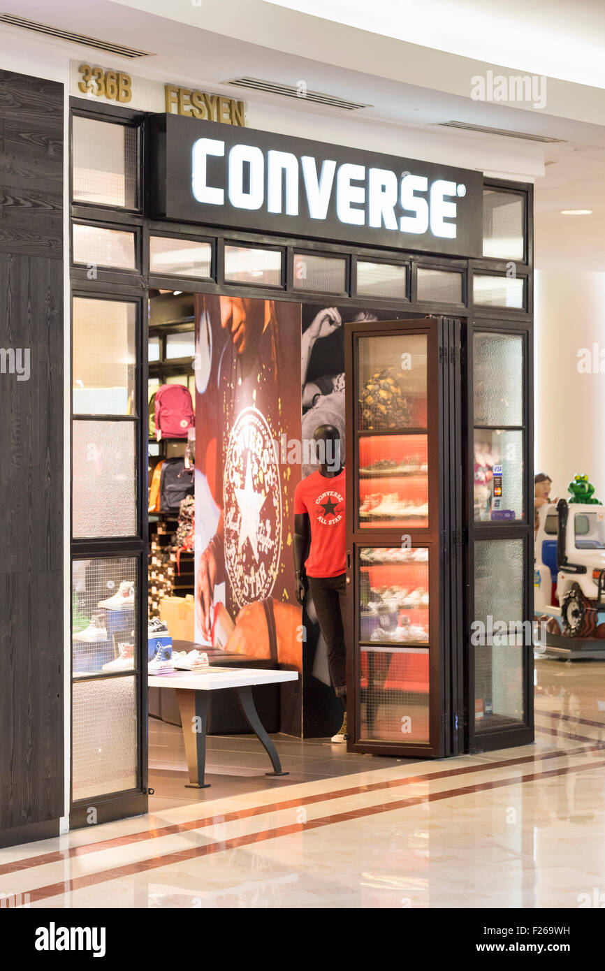 Converse shop - Stock Image