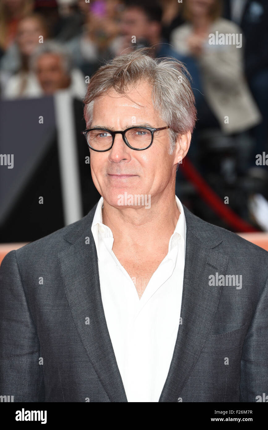 Toronto, Ontario, Canada. 12th Sep, 2015. Actor HENRY CZERNY attends the 'Remember' premiere during the - Stock Image