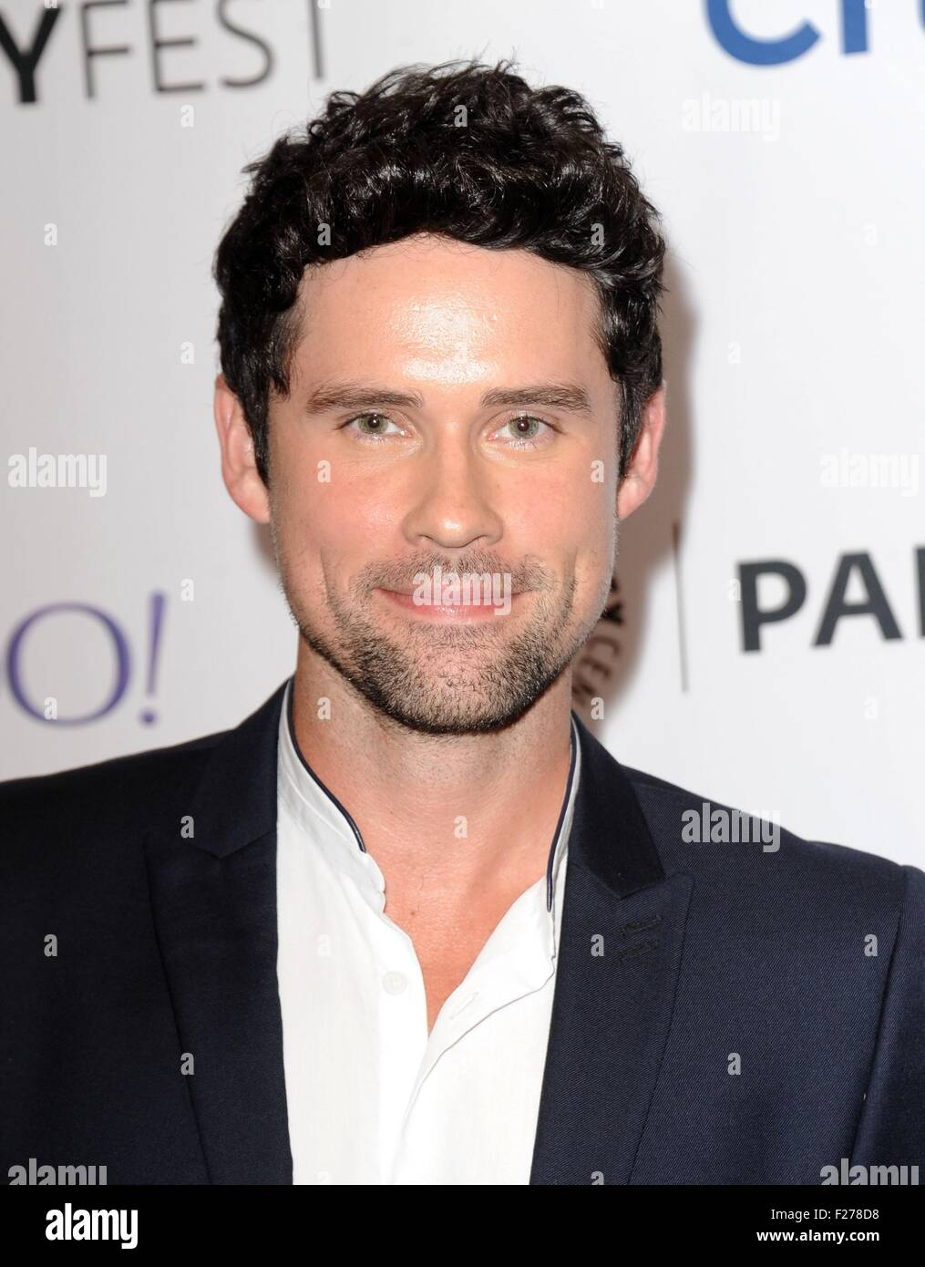 benjaman hollingsworth at arrivals for code black at the 2015 stock