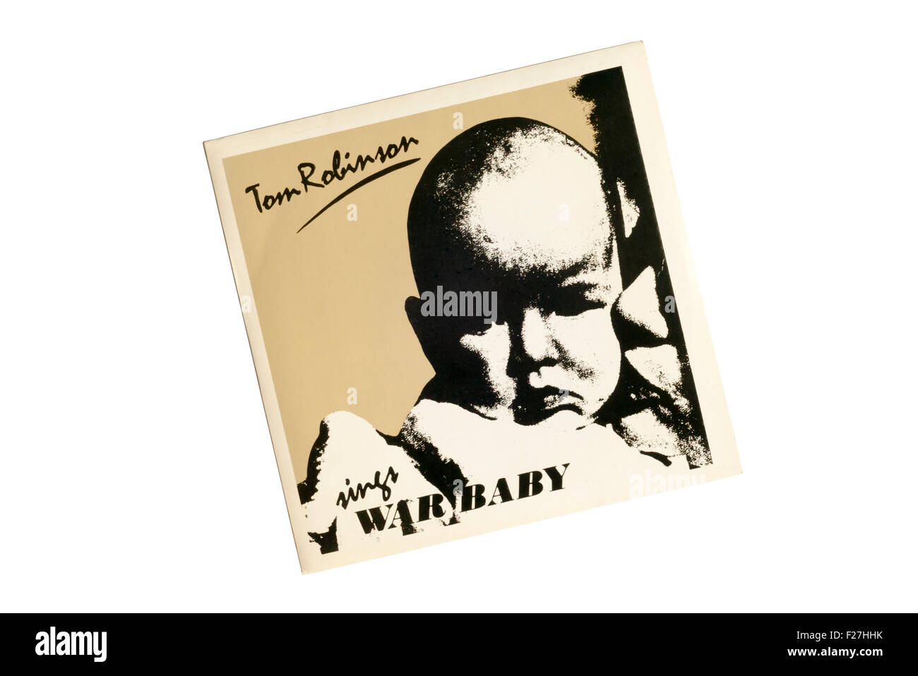 War Baby was issued as a single by Tom Robinson in 1983. - Stock Image