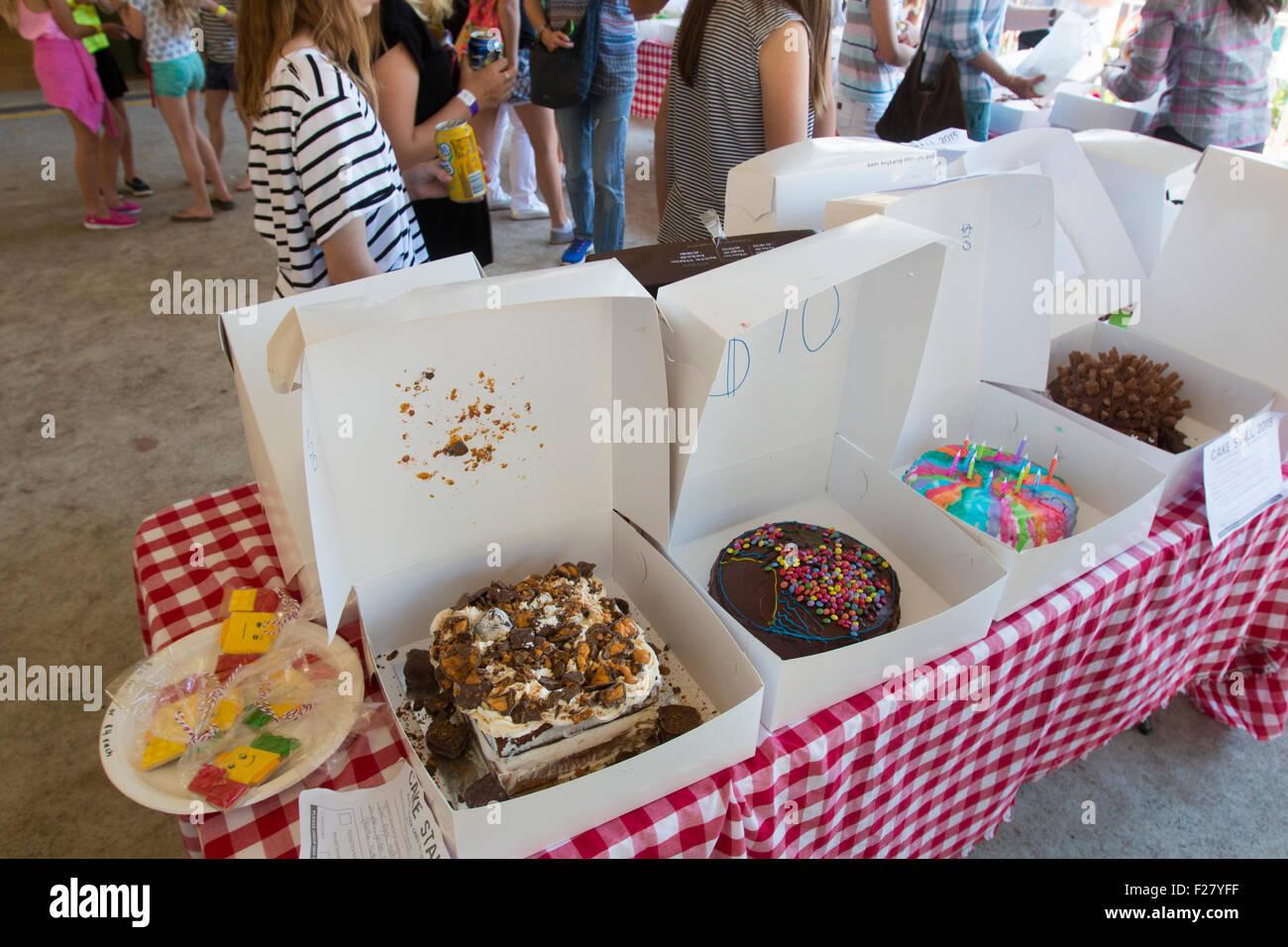Cake Stall Stock Photos & Cake Stall Stock Images - Alamy