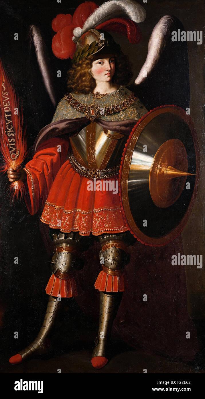 Francisco de Zurbarán - The Archangel Michael - Stock Image