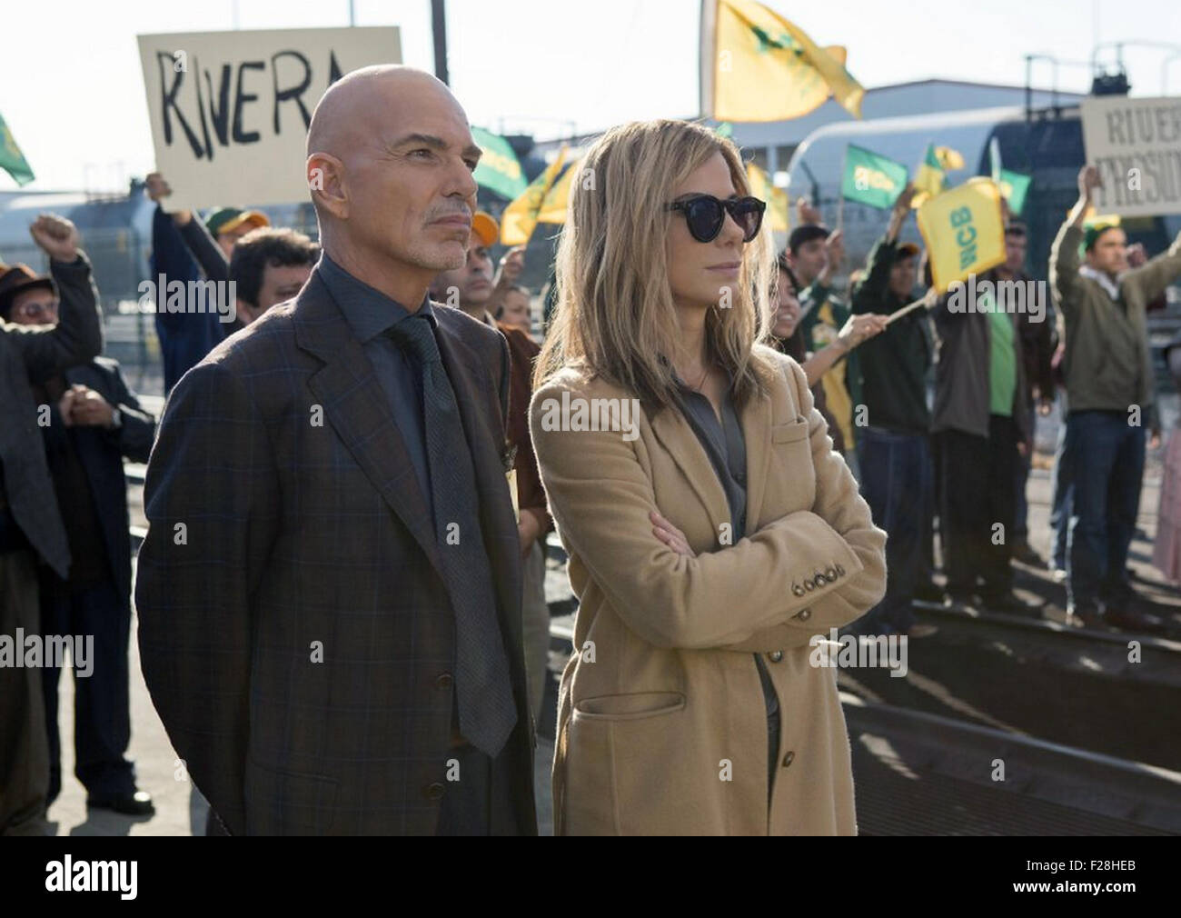 OUR BRAND IS CRISIS 2015 Warner Bros film with Sandra Bullock and and Billy Bob Thornton Stock Photo