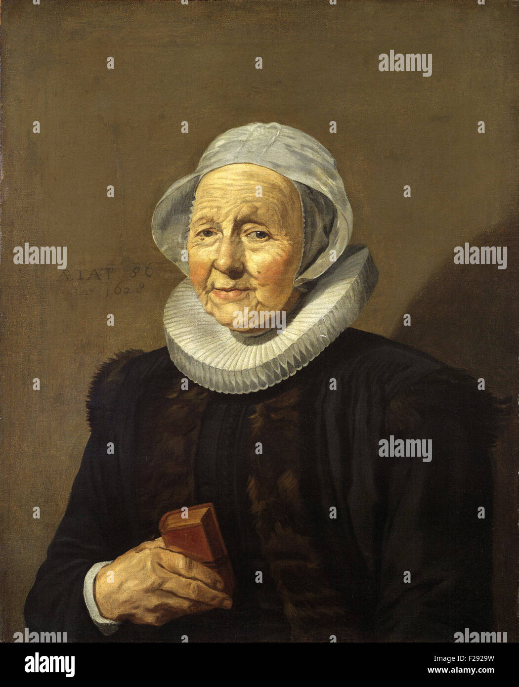 Frans Hals - An Old Lady - Stock Image