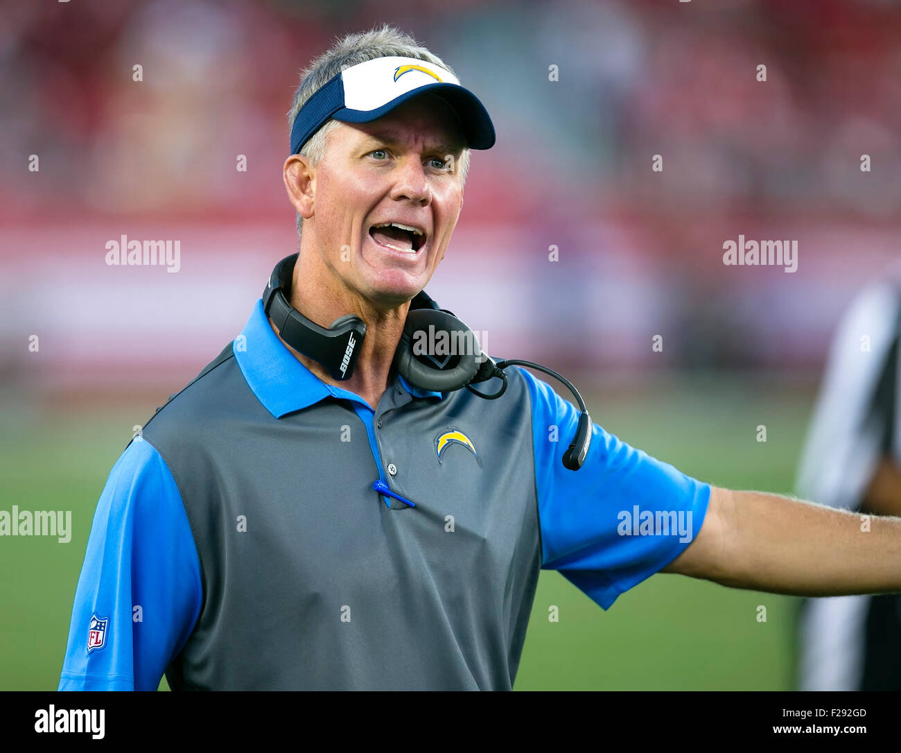 San Diego Chargers Coaches: Mike Mccoy Stock Photos & Mike Mccoy Stock Images