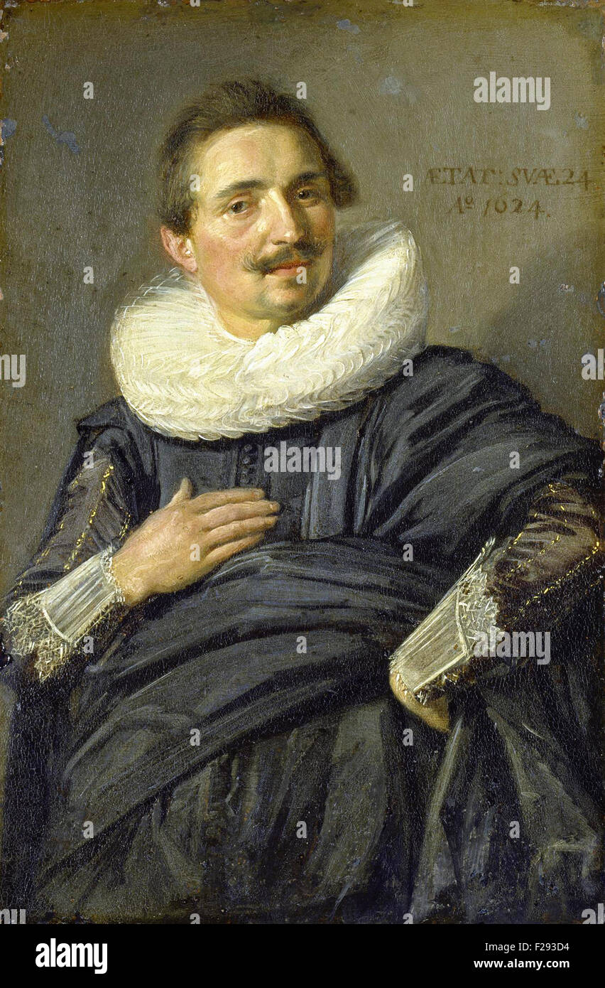Frans Hals - Portrait of a Young Man 11 - Stock Image