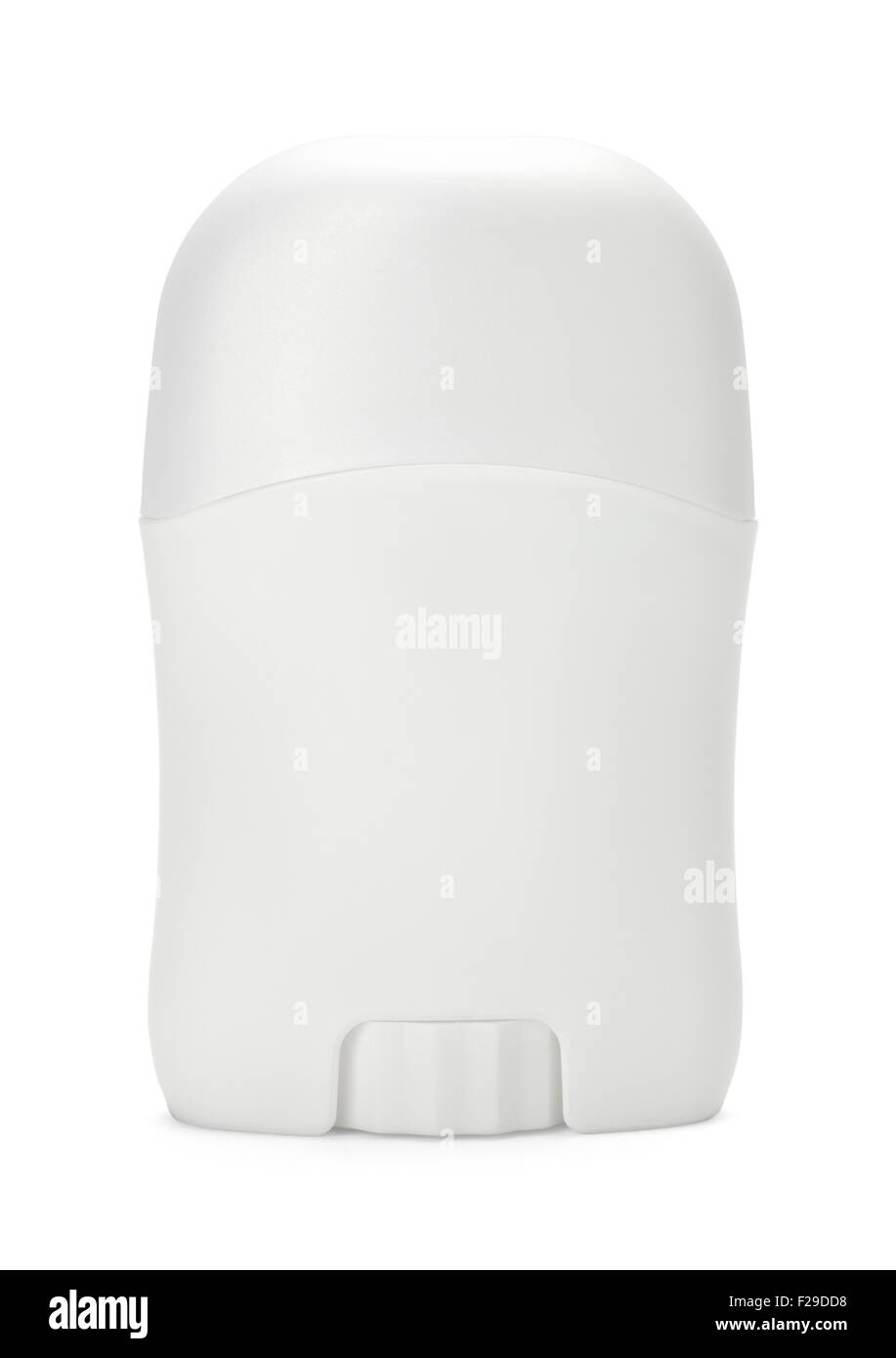 Roll on Deodorant with Copy Space Isolated on White Background. - Stock Image