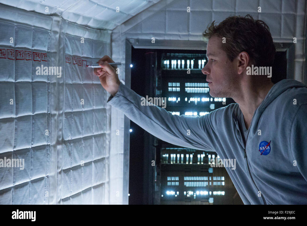 The Martian is an upcoming American science fiction film directed by Ridley Scott and starring Matt Damon.  This - Stock Image