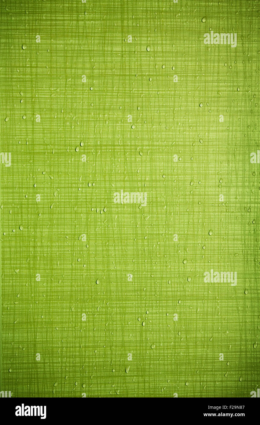 Texture green backdrop - tile wall - Stock Image