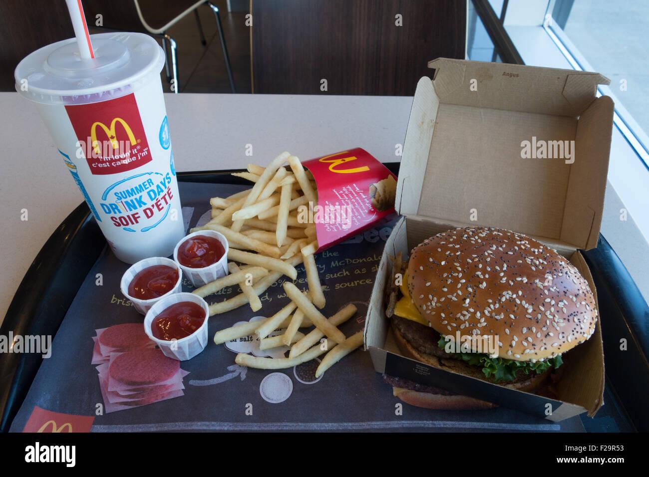 Fast Food Reykjavik Hamburger