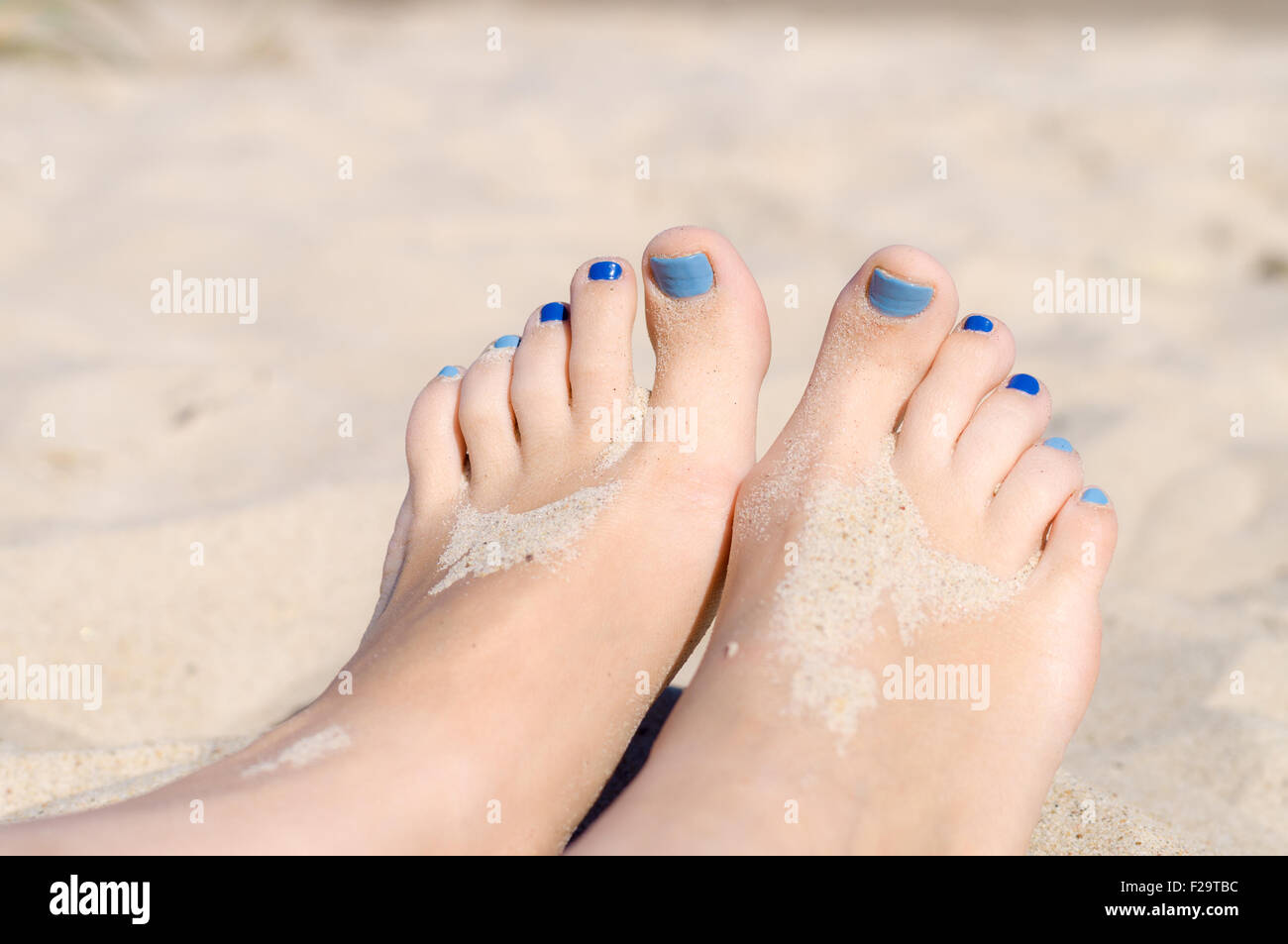 Feet nail