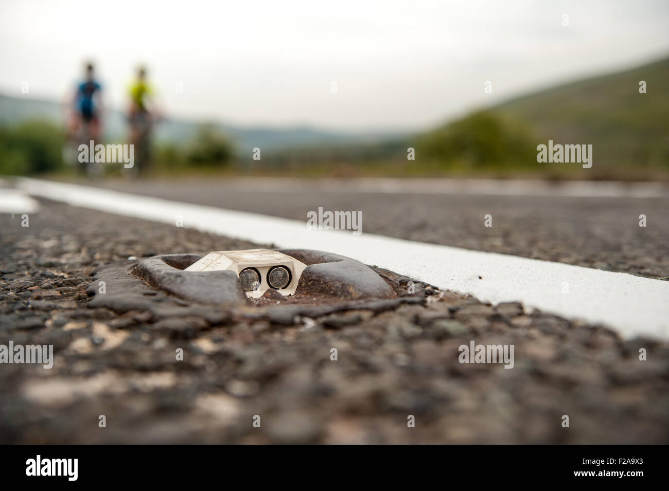Road Studs High Resolution Stock Photography And Images Alamy