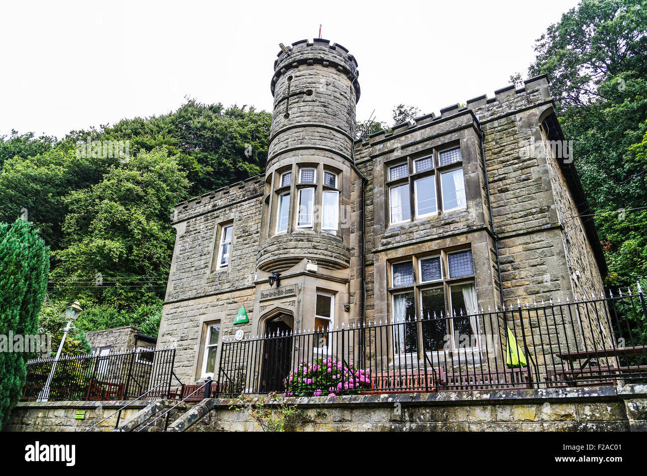 The YHA hostel, Eyam, England, UK - Stock Image