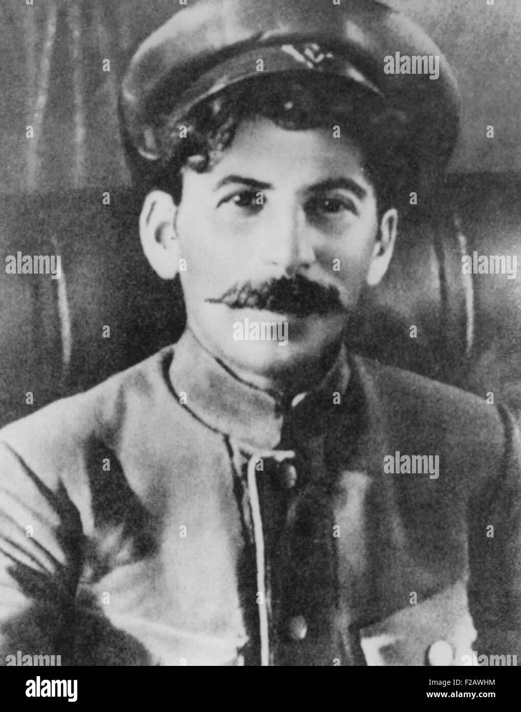 Josef Stalin as a Soviet Revolutionary during World War 1. Ca. 1915. (CSU_2015_11_1370) - Stock Image