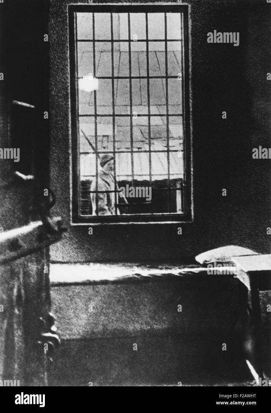 Josef Stalin occupied this cell in the Batumi Prison of Transcaucasia in 1903. (CSU_2015_11_1365) - Stock Image