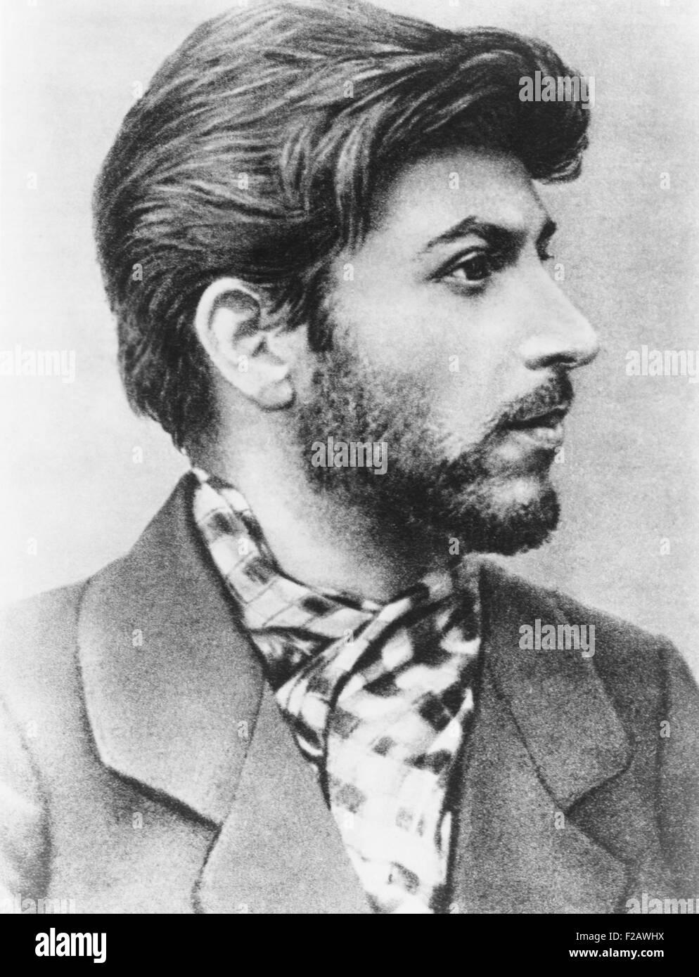 Josef Stalin as a young revolutionary. 1900. (CSU_2015_11_1362) - Stock Image