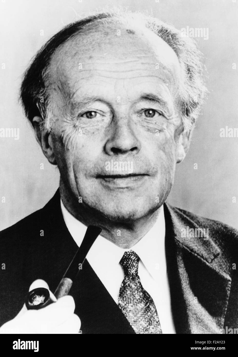Erskine Childers, the first Protestant President of the Roman Catholic  Irish Republic. May 1973. In the 1950s and 1960s he held