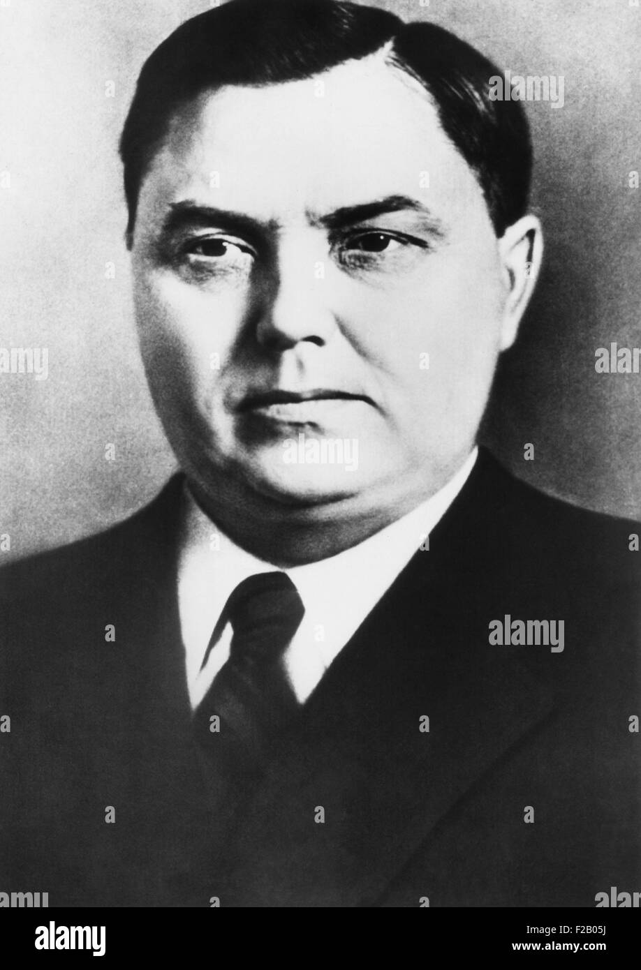 Georgy Malenkov was named Premier of Soviet Russia on the day following Stalin's death. March 6, 1953. (CSU - Stock Image