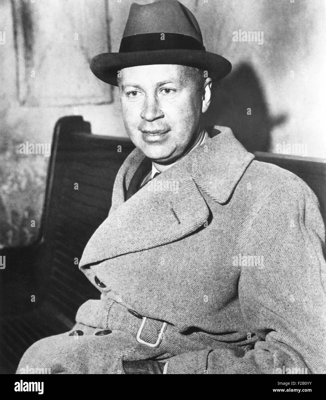 Sergei Prokofiev, Ukrainian born pianist, conductor, and composer. Ca. 1930. Among his best known works are PETER - Stock Image