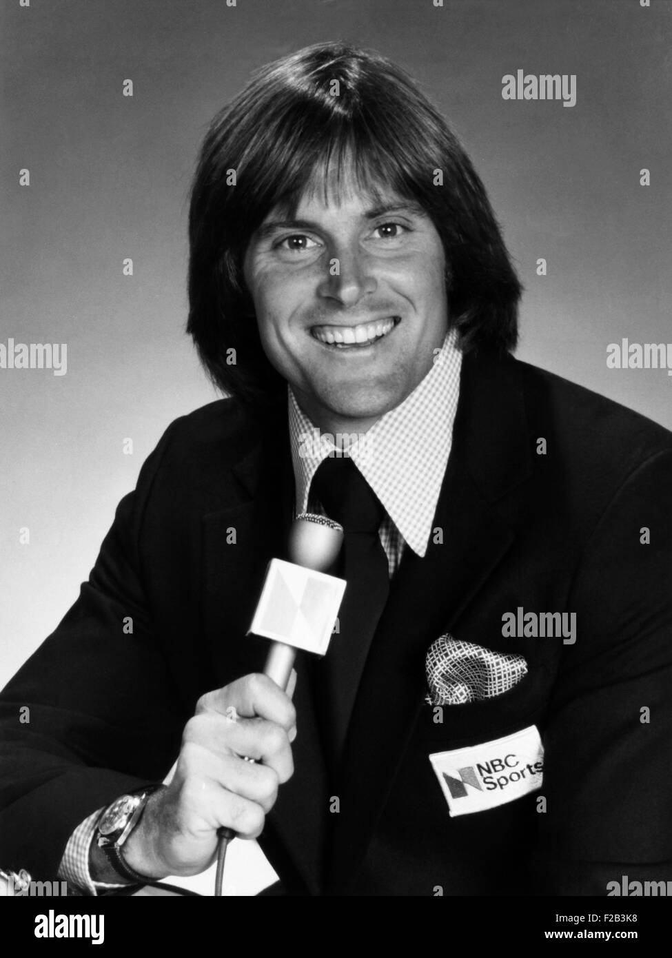 Bruce Jenner was planned to be the co-host the of the 1980 Summer Olympics. However NBC canceled its coverage in - Stock Image