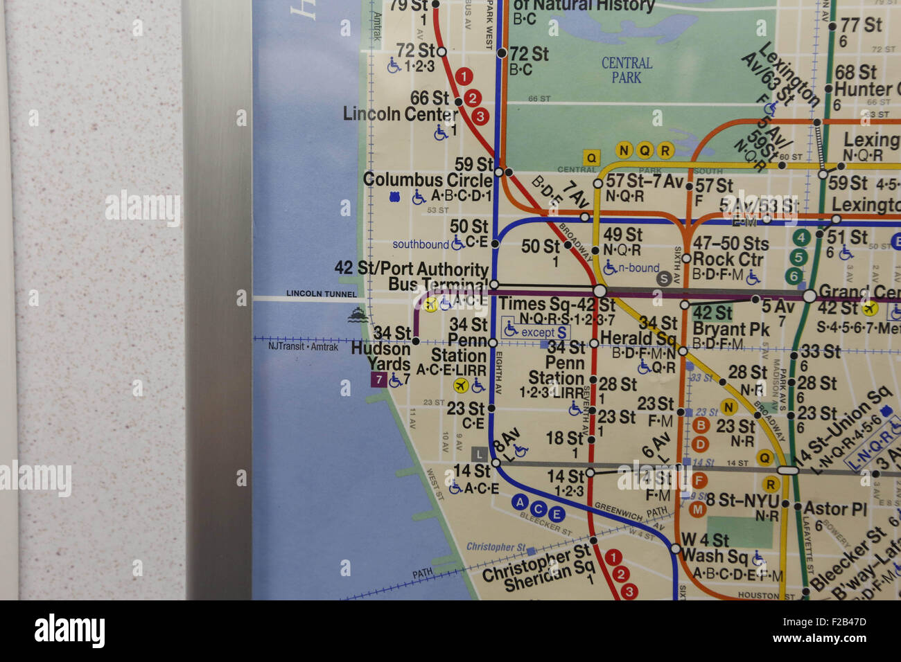 Nyc Subway Map 1910.Nyc Subway Map Stock Photos Nyc Subway Map Stock Images Alamy
