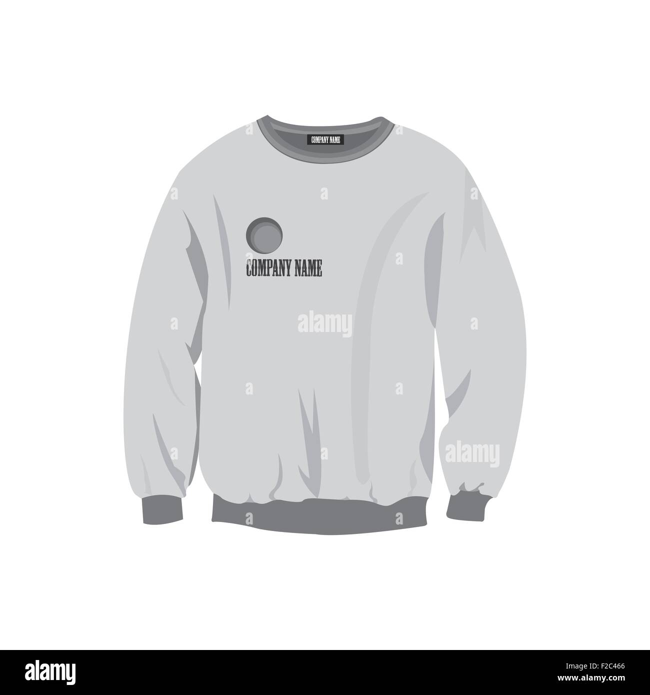 Sweatshirt design template Stock Vector Art & Illustration, Vector ...