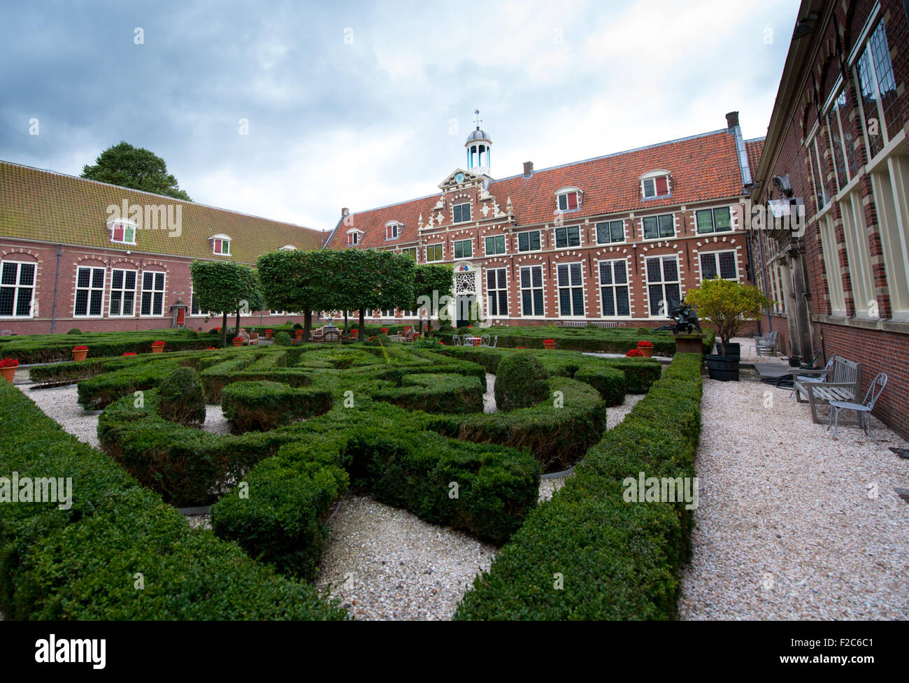 The Frans Hals Museum, in Haarlem, Netherlands Stock Photo