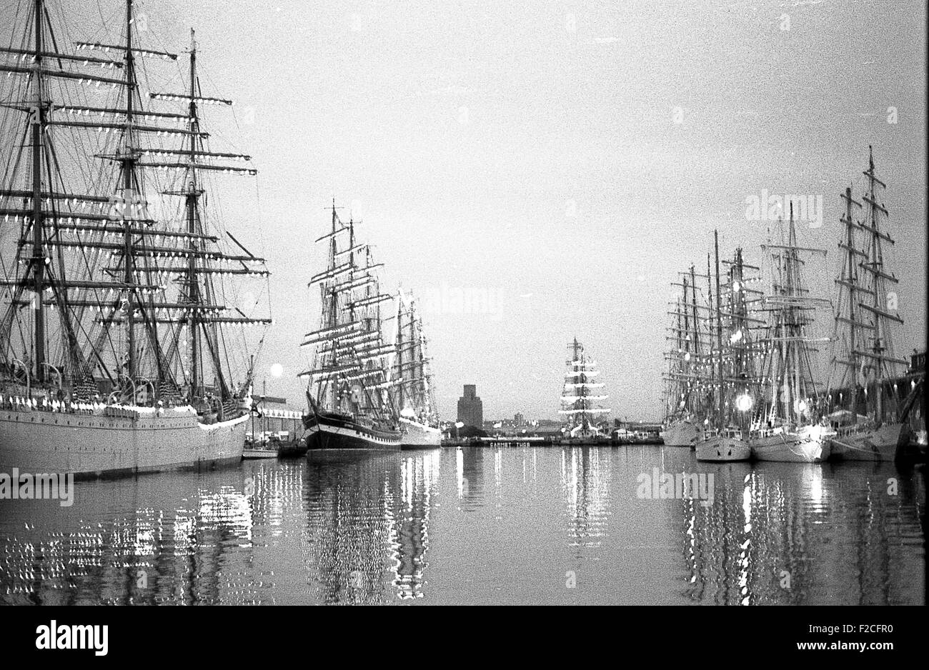 The Tall Ships in Liverpool & the Wirral in 1992 - Stock Image