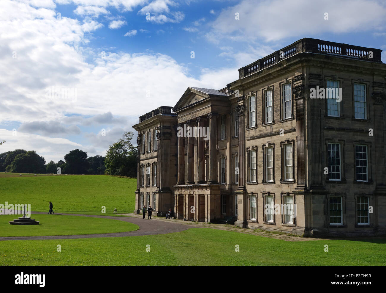 Calke Abbey Derbyshire country house stately home Uk - Stock Image